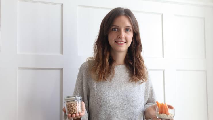 Von den Erbsen zum Hummus: Anik Thaler setzt auf lokale Zutaten.