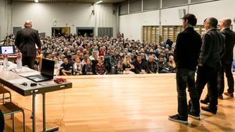 An die letztjährige Wintergmeind kamen fast 700 Menschen – nicht alle hatten Platz, die Versammlung wurde verschoben. Heute Abend stehen wiederum spannende Themen zur Debatte.