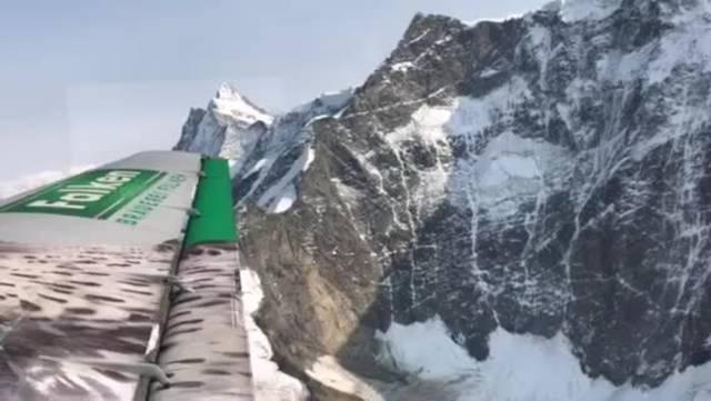 Ein Flug über die Alpen mit einer «Tante Ju»