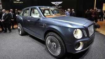 Gerfagers Diebsgut: Bentley Motors EXP 9F.