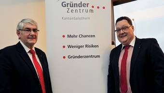 Wechsel an der Vereinsspitze: Marc Thommen (r.) löst Fritz Tanner als Präsident ab.