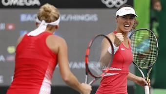 Erfolgreiche Schweizerinnen: Martina Hingis und Timea Bacsinszky