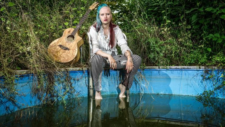 «Das Singen macht mich einfach glücklich»: Seraina Telli.