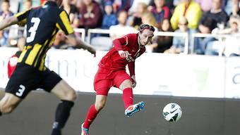 Thun-Kicker Luca Zuffi traf in Schweden gleich doppelt.