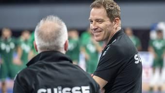 Hat gut lachen: Michael Suter und sein Team verblüfften die Fachwelt an der Handball-WM.