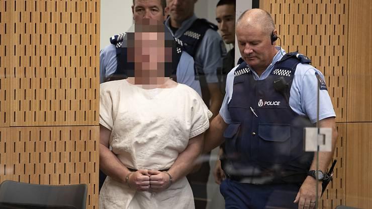 Der Attentäter, der in Christchurch 50 Menschen getötet hat, will sich laut Angaben seines Pflichtanwalts vor Gericht selber verteidigen. (Archivbild)