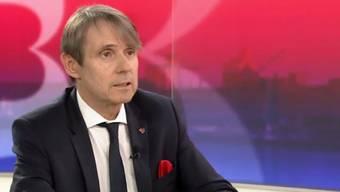 """Bernhard Burgener beklagte sich über angebliche """"Fake News gewisser Medien"""". Richtigstellen wollte er diese aber nicht."""