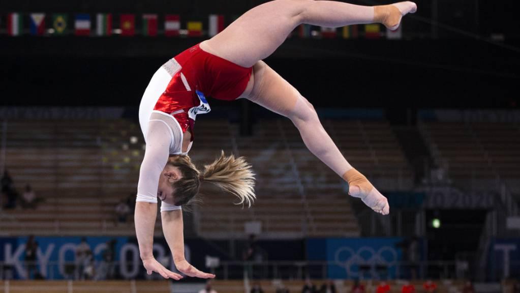 Giulia Steingruber belegte im Mehrkampf-Final Rang 15, wurde am Schwebebalken aber hart bewertet