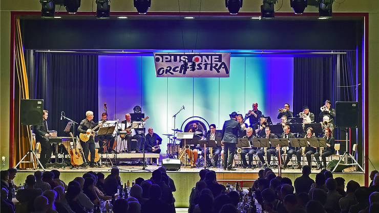 Das Opus One Orchestra erreichte mit seiner funkigen Musikalität und Motivation die Herzen des Publikums.