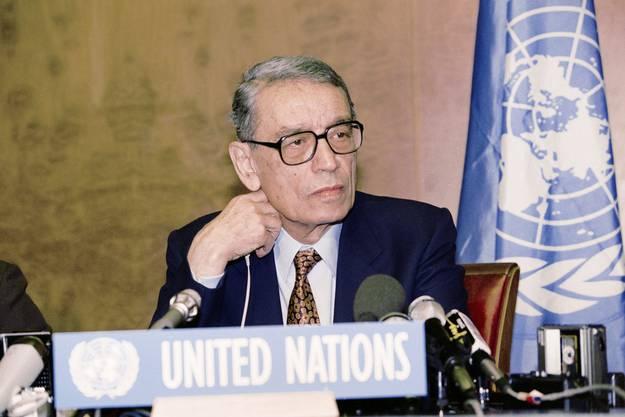 1992 bis 1996: Boutros Boutros-Ghali