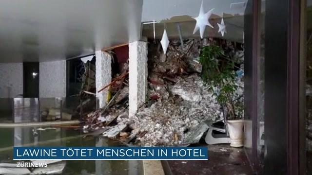 Lawine verschüttet ganzes Hotel