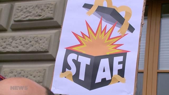 SP-Spitze weibelt für AHV-Steuer-Deal STAF