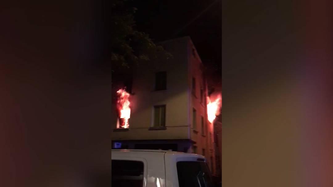 Drei Schwerverletzte nach Brand in Zürich