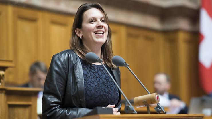 Hört im November auf: Die Zürcher SP-Nationalrätin Chantal Galladé. (Archivbild)