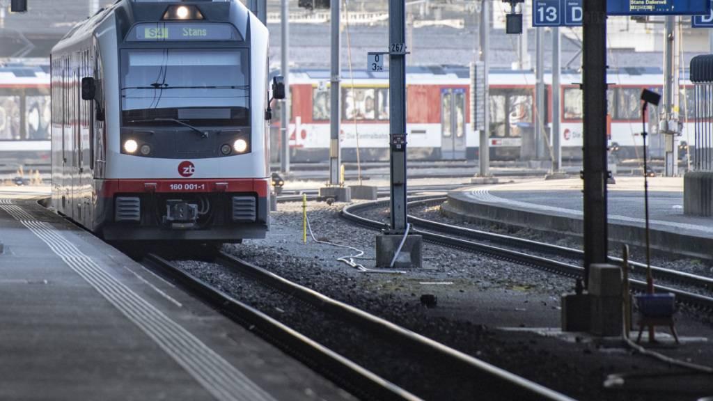 Bahnlinie im Kanton Obwalden vorübergehend unterbrochen