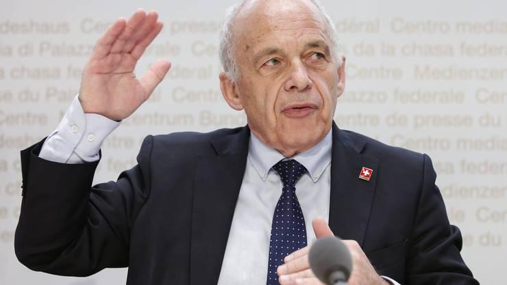 Das Departement von Bundesrat Ueli Maurer hatte die Solidarbürgschaften entwickelt.