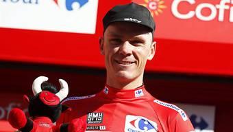 Führt die Vuelta weiterhin an: Chris Froome