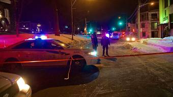Der kanadische Attentäter auf eine Moschee in Québec muss für mindestens 40 Jahre hinter Gitter. (Archivbild vom Anschlag)