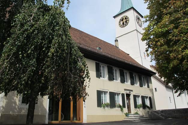 Pfarrhaus, 1764, Ausserbergstrasse 12