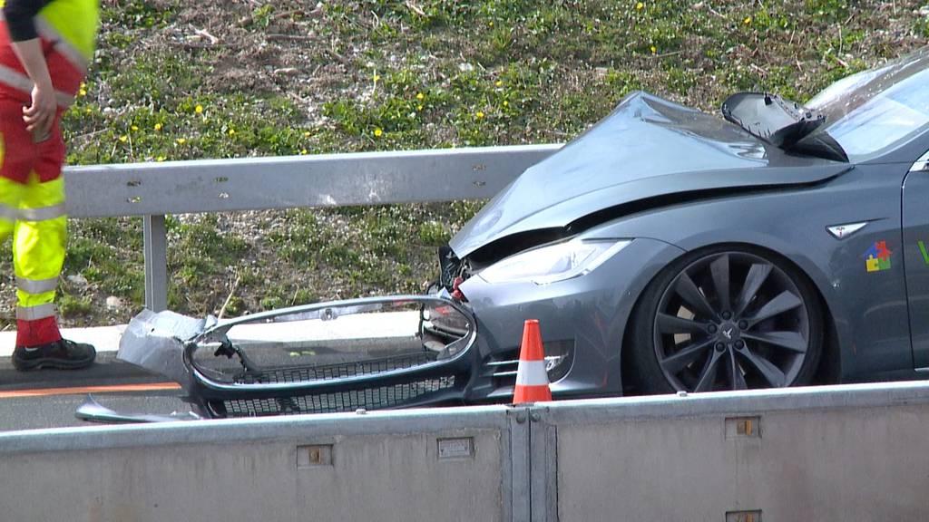 Erneuter Unfall auf A1 nahe Ausfahrt Töss