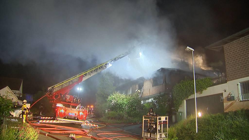 Drama in Jonschwil: Psychiater steckt Haus in Flammen und richtet sich danach selbst