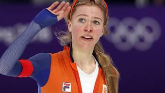 Europameisterin über 3000 m und nun Olympiasiegerin über 5000 m: die 22-jährige Niederländerin Esmee Visser