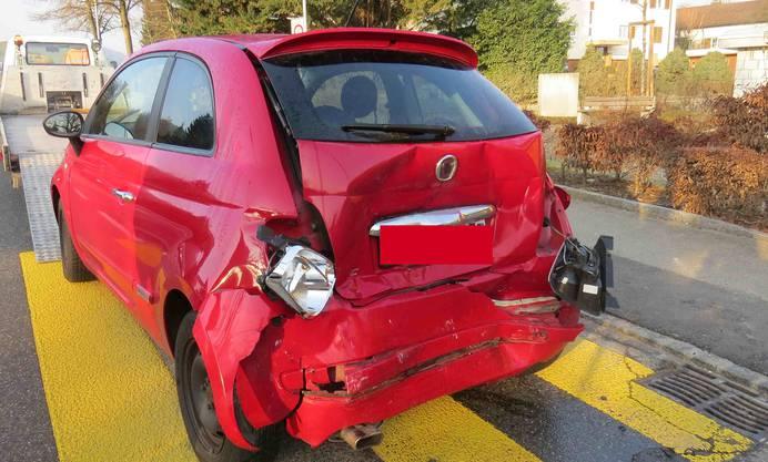 Neben der Kantonspolizei rückte die Regionalpolizei Rohrdorferberg-Reusstal an die Unfallstelle aus.