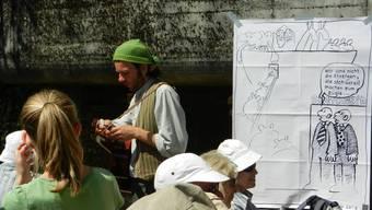 Von Hottwil nach Laufenburg: Bilder der 17. Etappe der az Leserwanderung
