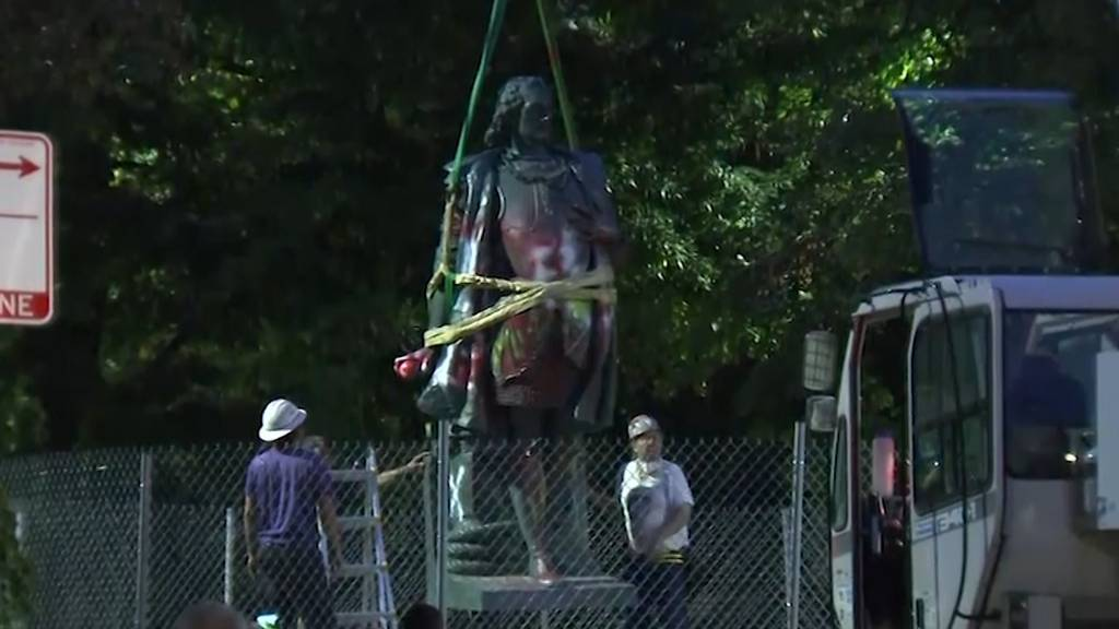 Chicago: Kolumbus-Statuen wegen Protesten vom Sockel geholt