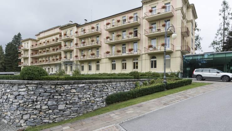 Blick auf das Hotel Waldhaus (Archivbild).