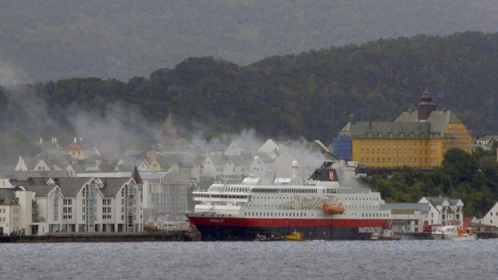 Reederei Hurtigruten von Hackern angegriffen (Archivbild)