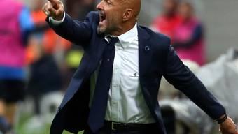 Luciano Spalletti weiss genau wo hin der Weg mit Inter führen soll
