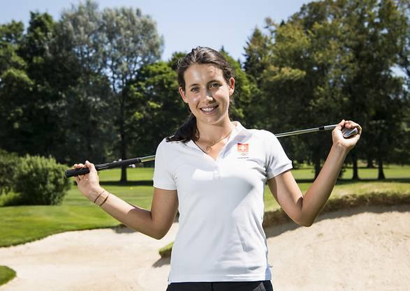 Albane Valenzuela - ein hervorragender Schweizer Golfexport
