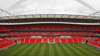 Das Wembley Stadium in London.