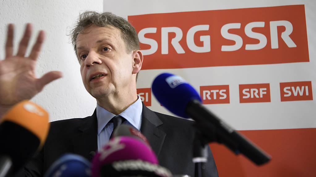 Nochmals 50 Millionen: SRG-Generaldirektor Gilles Marchand hat am Montag die Belegschaft über die neusten Sparpläne informiert. (Archivbild)