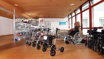 Das Ladenlokal von Tenedo Santé in der RehaClinic Bad Zurzach.
