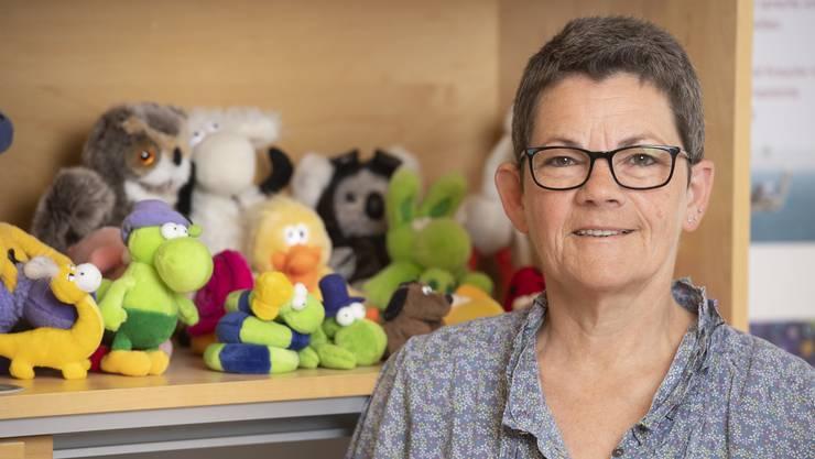 Stellenleiterin Ursula Enderli ist froh, dass sie die Jugendlichen wieder persönlich in ihrem Büro beraten kann.