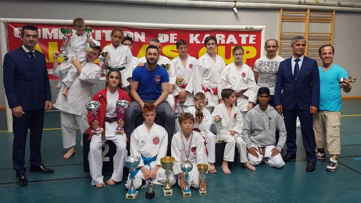 Gruppenfoto der SSKF Karatekas