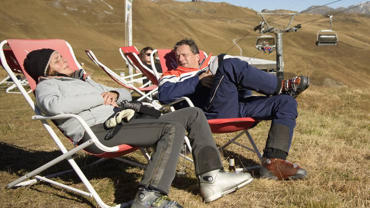 Dieses Bild entstand Ende Oktober 2016 zur Saisoneröffnung in Davos. In Zukunft könnte es in vielen Schweizer Skigebieten den ganzen Winter durch so aussehen.