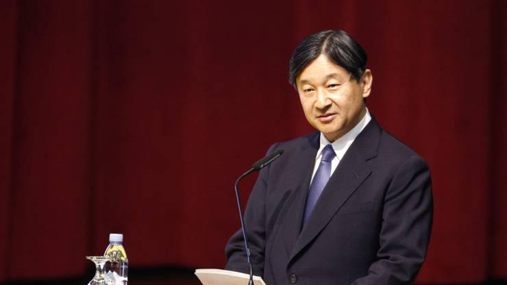 Kronprinz Naruhito könnte bald Kaiser in Japan werden: Eine Vorlage zur Abdankung seines Vaters Akihito wurde von der Regierung genehmigt. (Archivbild)