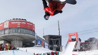 Platz 2 bei Olympia-Hauptprobe: Iouri Podladtchikov