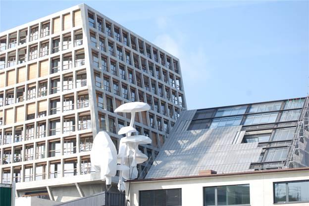Auch die Kulturpauschale wurde neu ausgehandelt, unter anderem erhält auch das Haus der elektronischen Künste auf dem Dreispitz-Areal Baselbieter Geld.