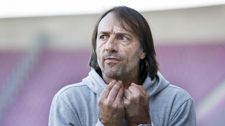 Nicht mehr für Chiasso tätig: Trainer Stefano Maccoppi.
