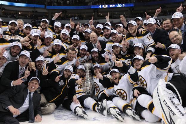 Die Boston Bruins sind die Titelverteidiger - Sie gewannen im letzten Jahr den Stanley Cup