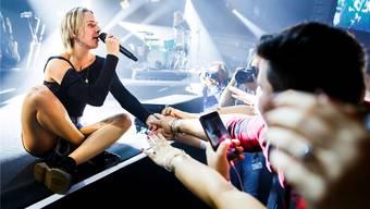Ausnahmeerscheinung: Die dänische Sängerin MØ tritt dieses Wochenende auf dem Gurten auf – als eine von wenigen Frauen. VALENTIN FLAURAUD/Keystone