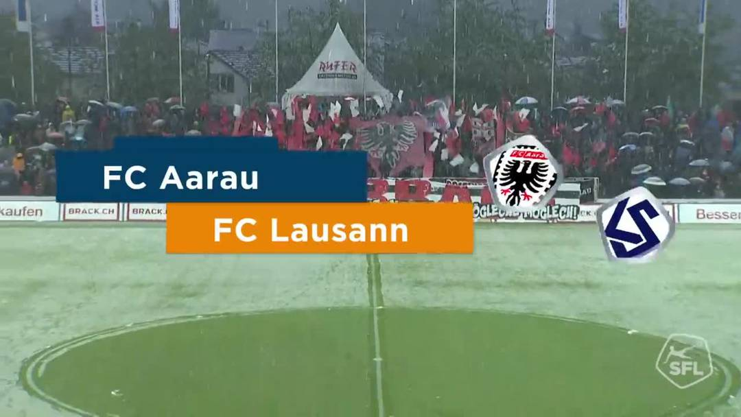 Challenge League, 2018/19, 32. Runde, FC Aarau – FC Lausanne-Sport: Die Highlights des 3:0-Sieges.