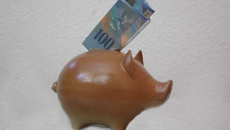 Das Geld vermehrt sich nicht gross auf dem Konto.