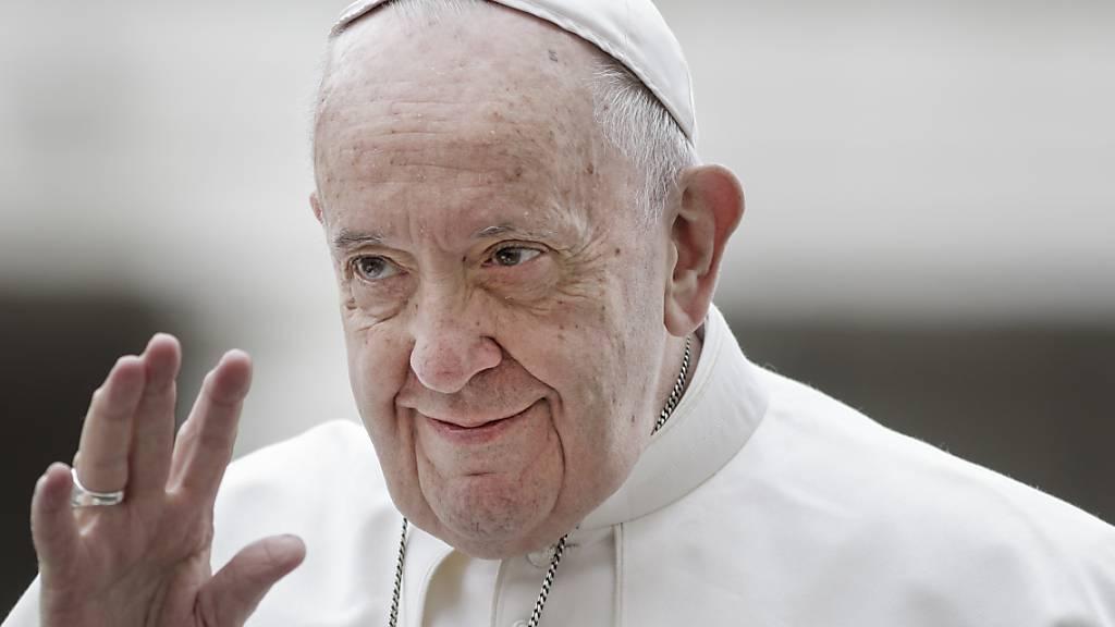 ARCHIV - Papst Franziskus wurde am 13. März 2013 vom Konklave gewählt. Foto: Giuseppe Ciccia/SOPA Images via ZUMA Wire/dpa