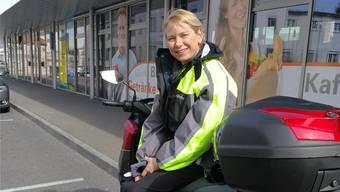 Brigitt Nyfeler (50) ist Lokführerin aus Aarau Rohr.