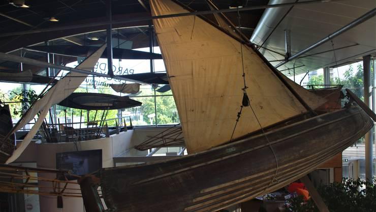 120 Boote umfasst die Sammlung an Kajaks und Kanus in Huningue.